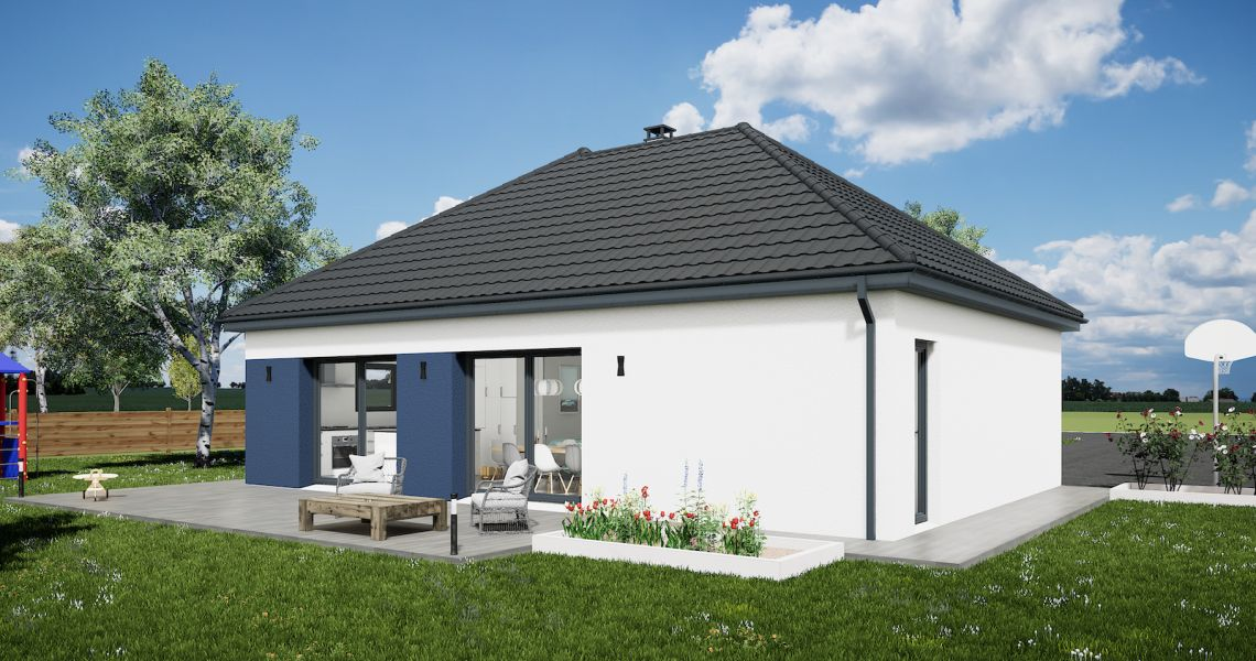 image Maison 90.15 m² avec terrain à LIGNY-LE-RIBAULT (45)
