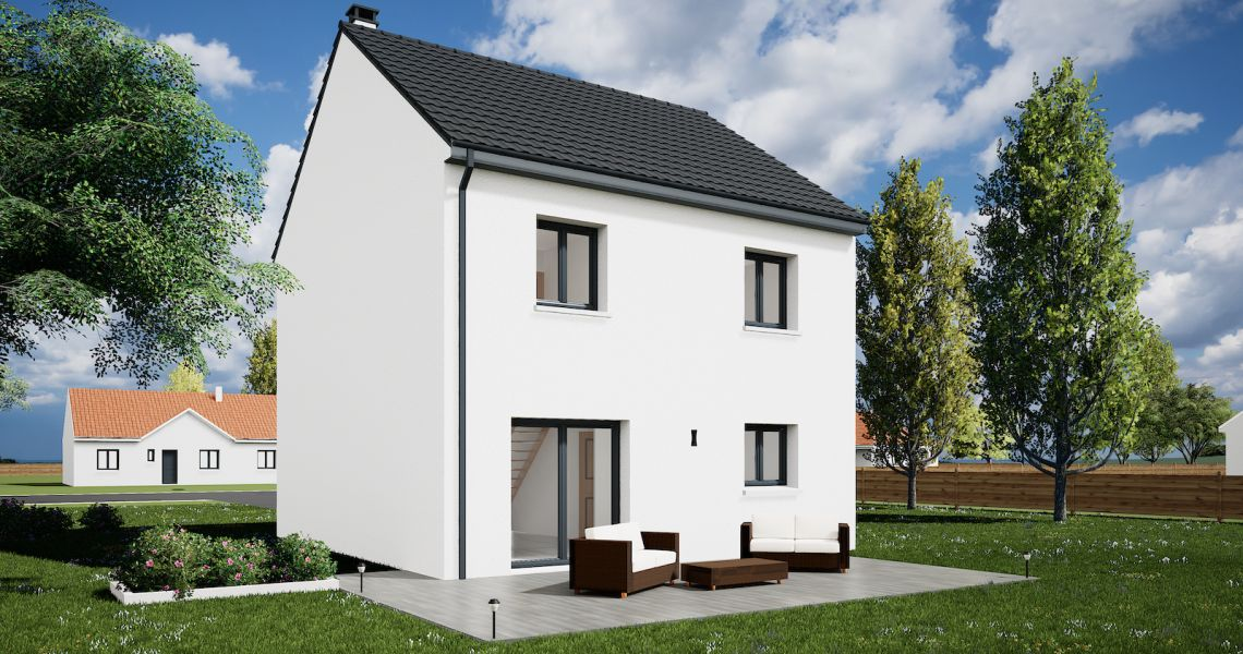 image Maison 95.63 m² avec terrain à CHALETTE-SUR-LOING (45)