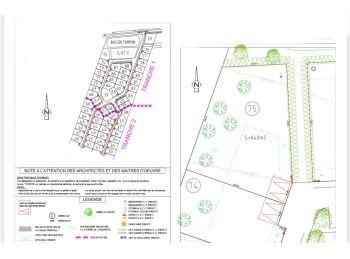 Photo du terrain à bâtir de 640m²<br> à NOGENT-LE-ROI (28)