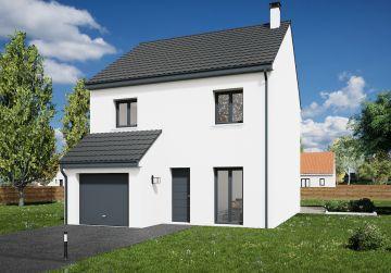 image offre-terrain-maison Maison 95.63 m² avec terrain à SAINT-HILAIRE-SAINT-MESMIN (45)