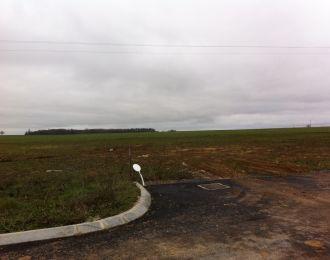 Photo du terrain à bâtir de 838 m² <br><span>YVERSAY(86)