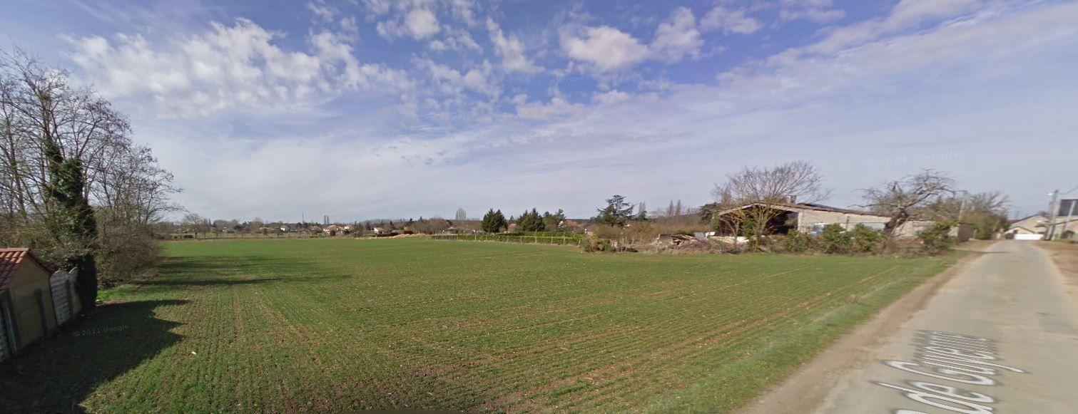 Photo du terrain à bâtir de 500 m² <br><span>CENON-SUR-VIENNE(86)
