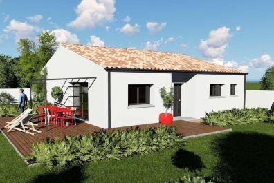 image offre-terrain-maison Maison 89.89 m² avec terrain à LES BILLAUX