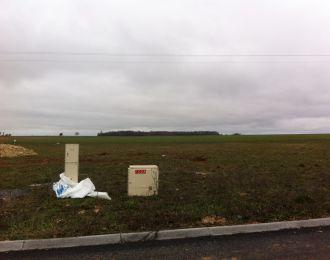 Photo du terrain à bâtir de 677 m² <br><span>YVERSAY(86)