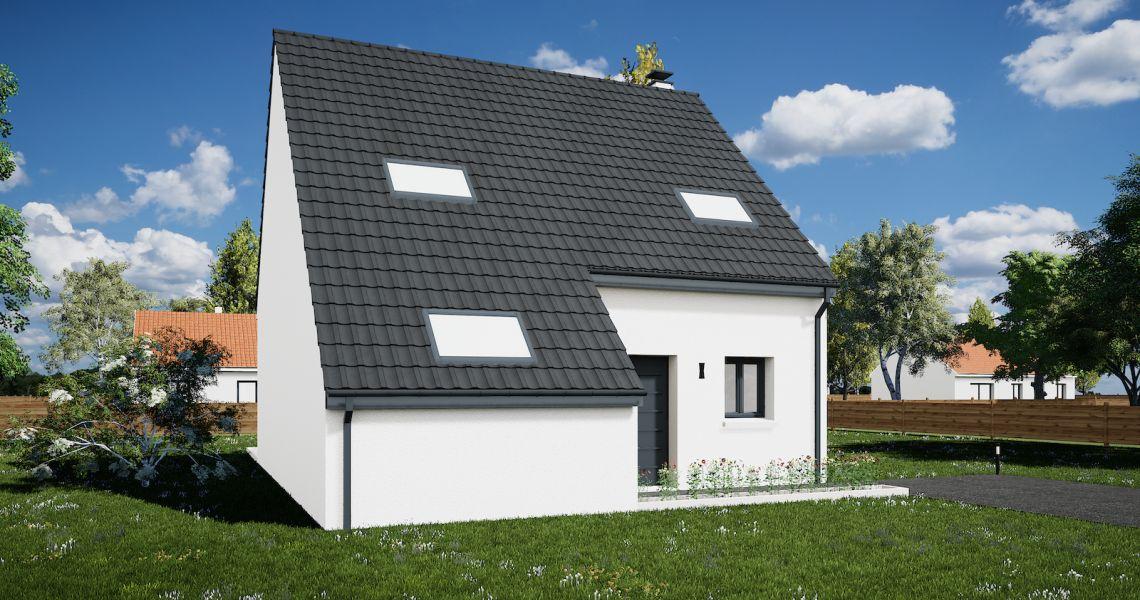 image Maison 104.76 m² avec terrain à JARGEAU (45)