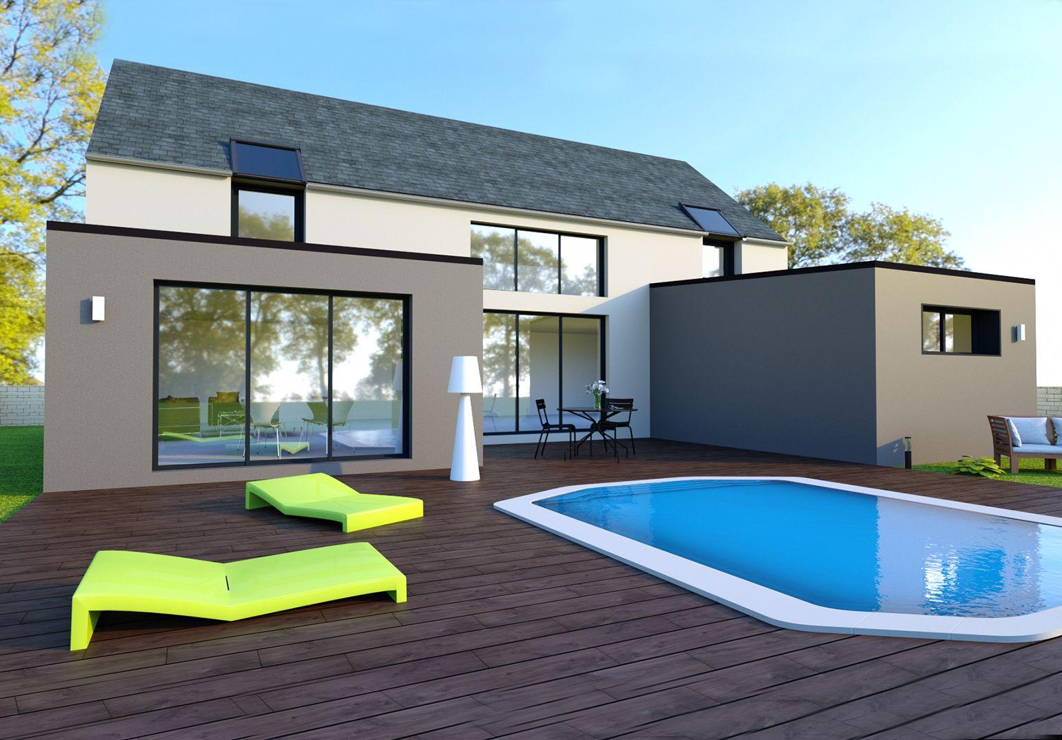 Image du modèle de maison VITRÉ 4CH 160