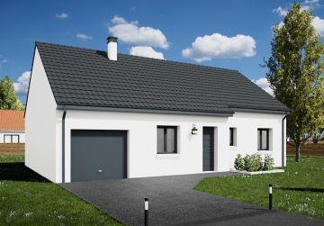image offre-terrain-maison Maison 85.18 m² avec terrain à SAINT-HILAIRE-SAINT-MESMIN (45)
