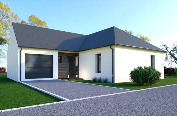 Photo maison 101m²<br>sur terrain 526m²