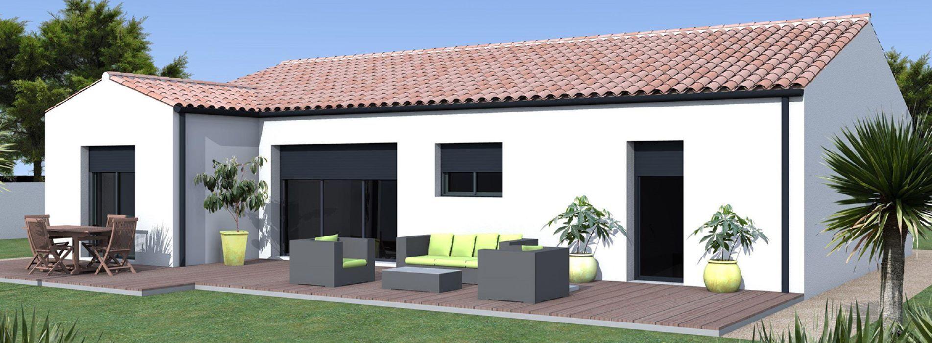 Image Maison 95.23 m² avec terrain à SAINT-ANDRE-DE-CUBZAC (GIRONDE - 33)