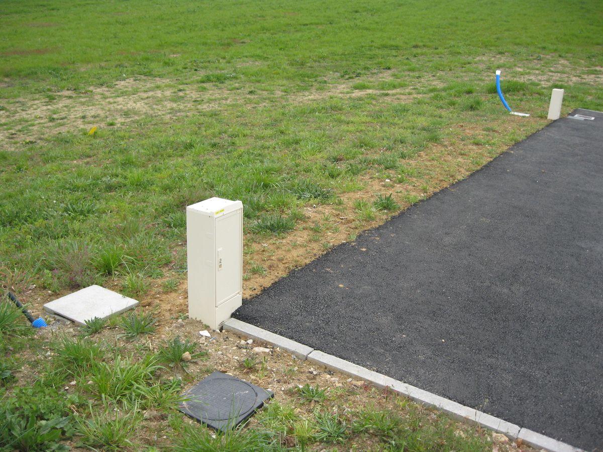 Photo du terrain à bâtir de 558 m² <br><span>INGRANDES(86)