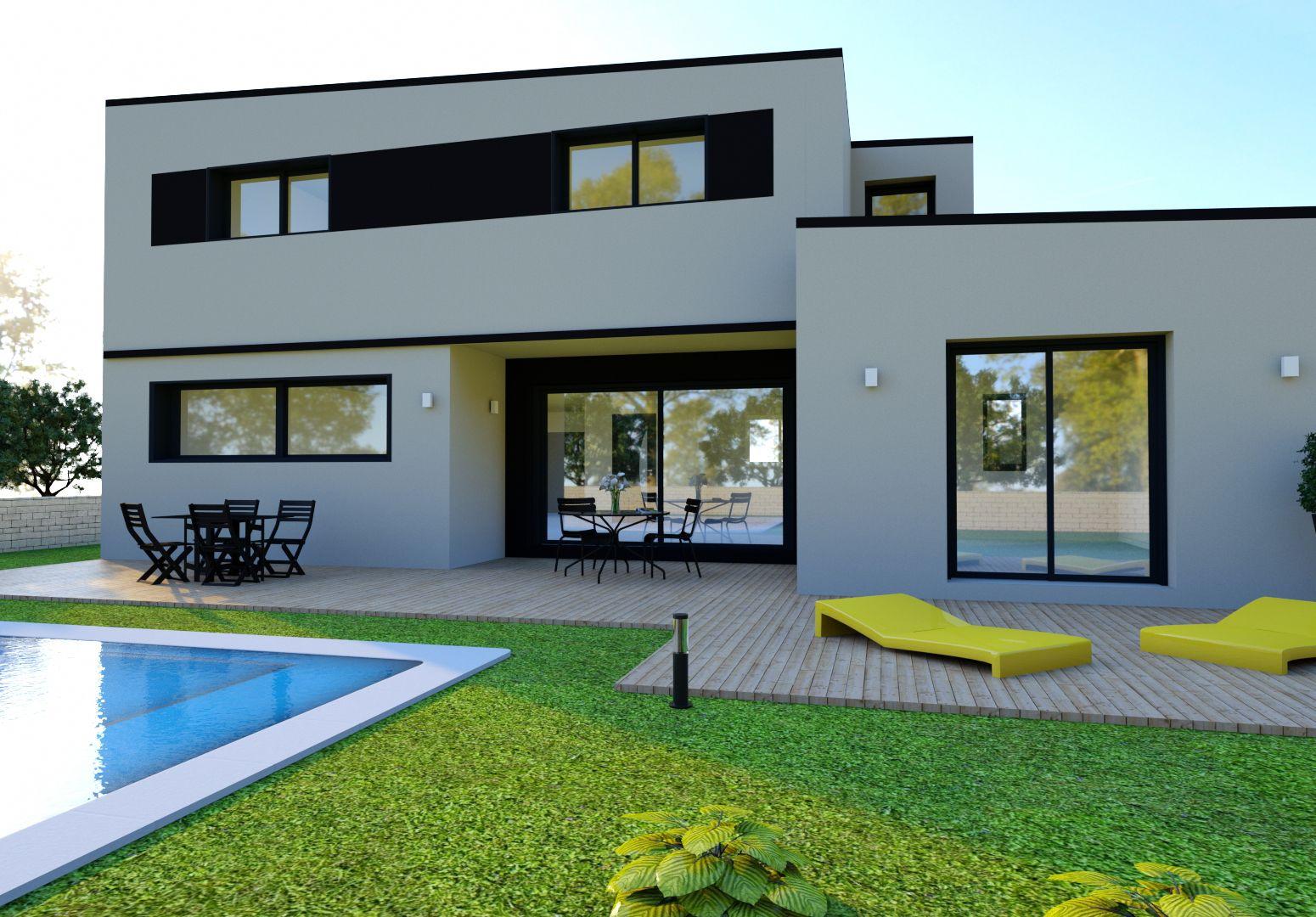 Image du modèle de maison LANVALLAY 4CH 150