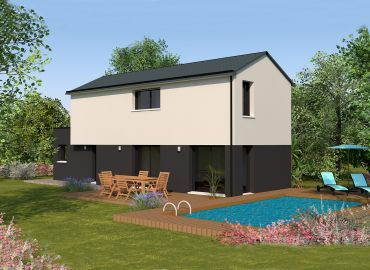 image offre-terrain-maison Maison 99.85 m² avec terrain à GRAND-FOUGERAY (35)