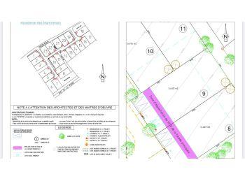 Photo du terrain à bâtir de 487m²<br> à EPERNON (28)