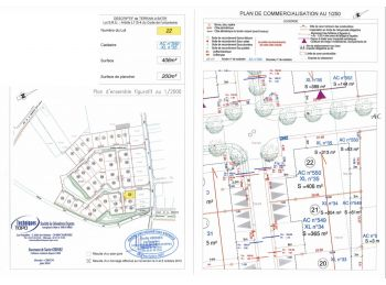 Photo du terrain à bâtir de 406m²<br> à ILLIERS-COMBRAY (28)