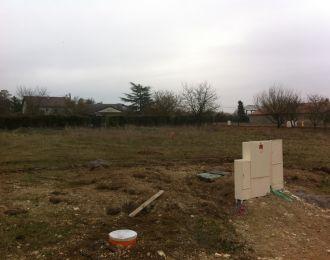 Photo du terrain à bâtir de 659 m² <br><span>CISSE(86)