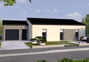Modèle de maison GRENADE 4CH 93 - Salon TRAV