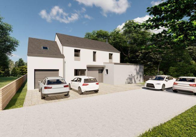 Maison 125 m² avec terrain à HERBIGNAC (44)