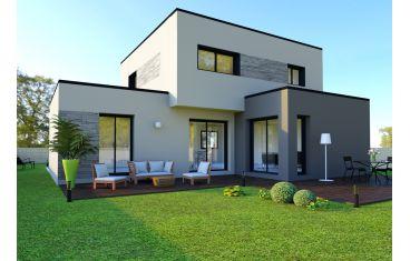 Photo maison 115m²<br>sur terrain 310m²