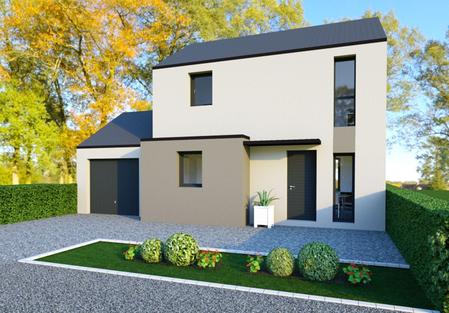 Image du modèle de maison QUEVERT 3CH 80