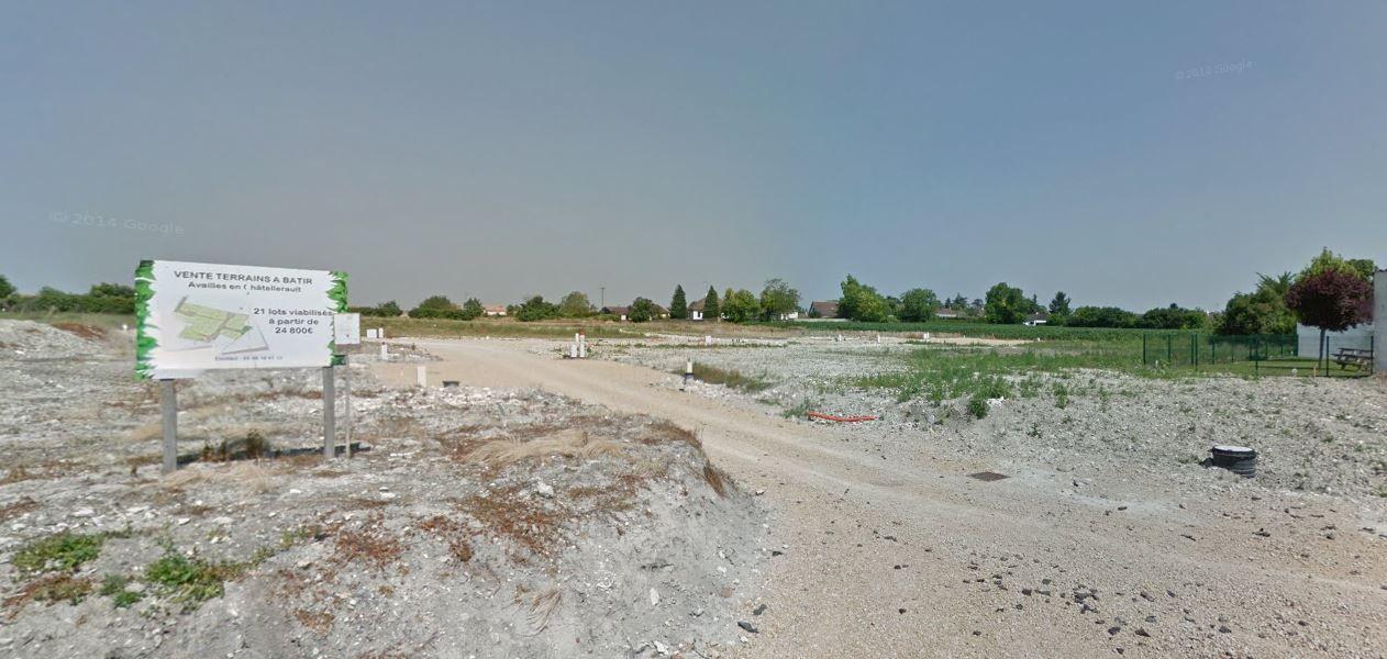 Photo du terrain à bâtir de 1238 m² <br><span>AVAILLES-EN-CHATELLERAULT(86)