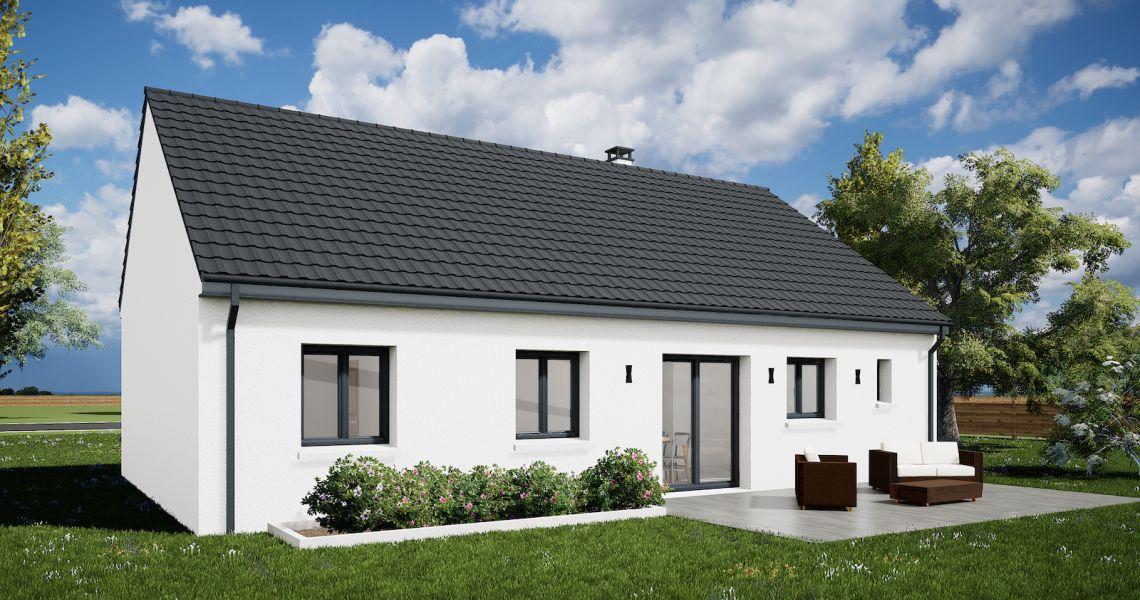 image Maison 85.18 m² avec terrain à SAINT-JEAN-DE-BRAYE (45)
