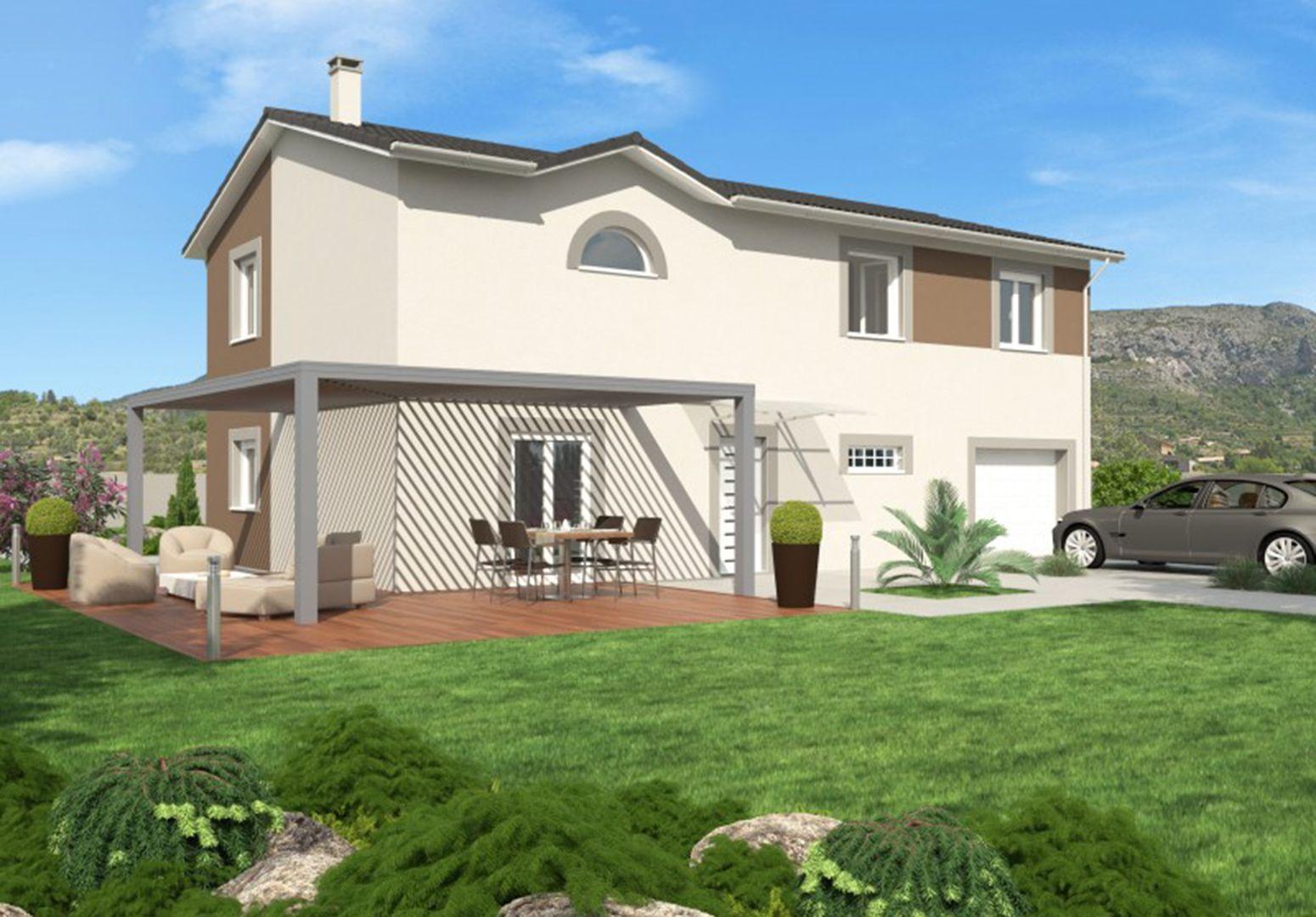 Maison 89 m² avec terrain à SAINTE-ANNE-SUR-GERVONDE (38) 1