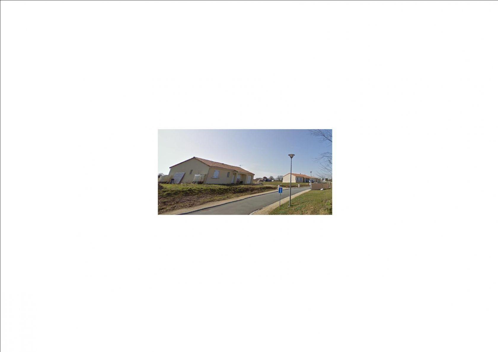 Photo du terrain à bâtir de 863 m² <br><span>BENASSAY(86)