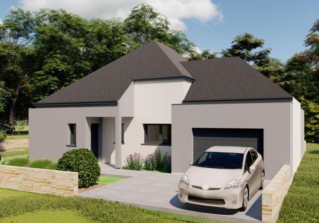 Maison 110 m² avec terrain à LA BAULE-ESCOUBLAC (44)