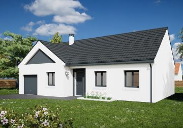 image offre-terrain-maison Maison 85.82 m² avec terrain à SAINT-HILAIRE-SAINT-MESMIN (45)