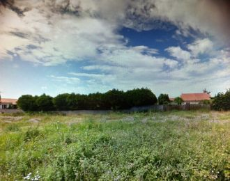 Photo du terrain à bâtir de 571 m² <br><span>CROUTELLE(86)