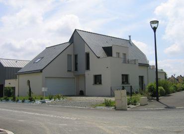 image de la construction de maison Acigné (35)