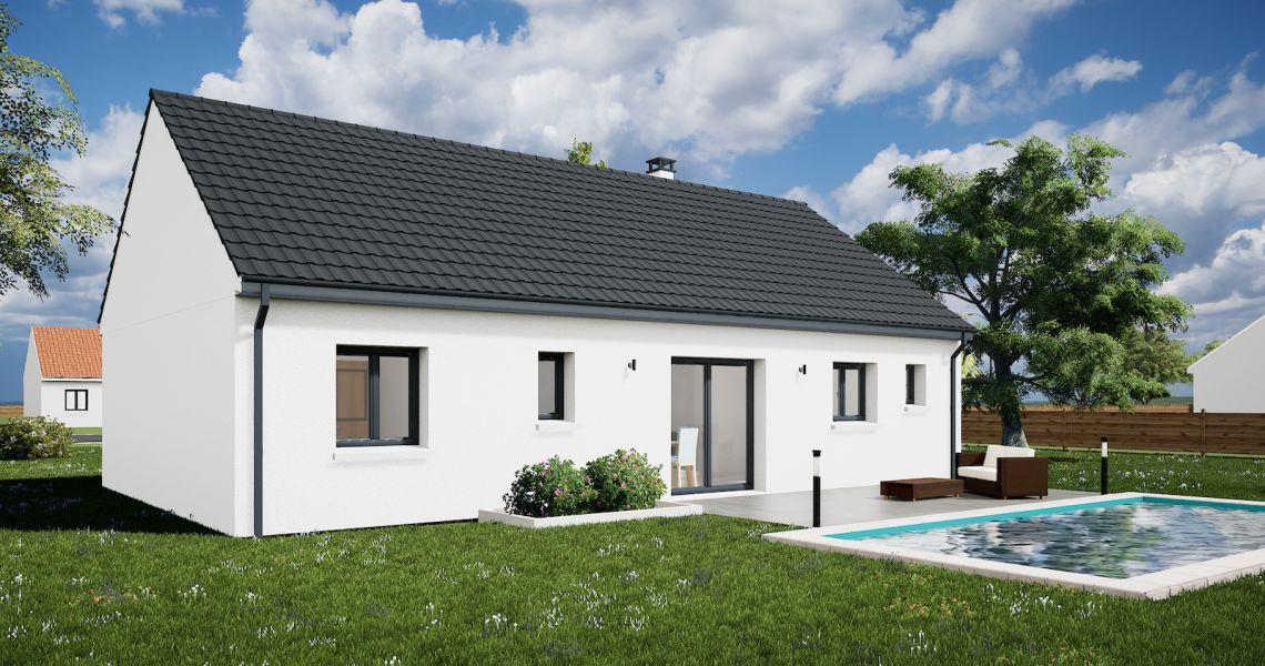 image Maison 85.82 m² avec terrain à LADON (45)