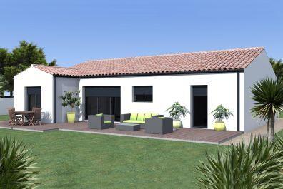 image offre-terrain-maison Maison 95.23 m² avec terrain à LES BILLAUX