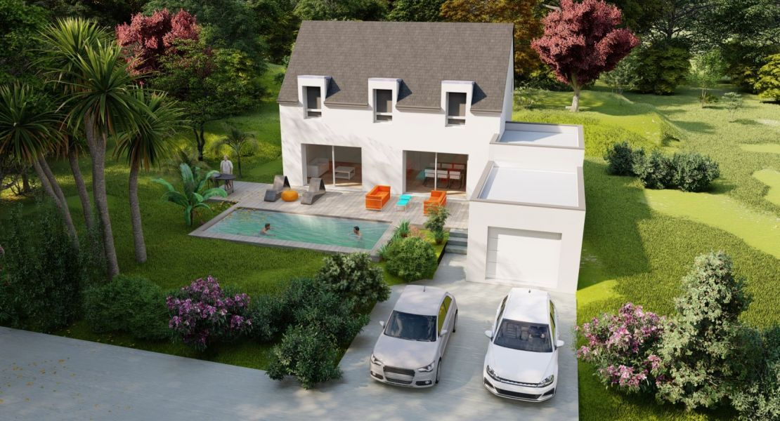 image Maison 135 m² avec terrain à PETIT-MARS (44)
