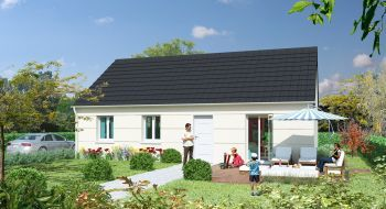 Photo de la maison 3CH de 86m²<br> à CHARTRES (28)