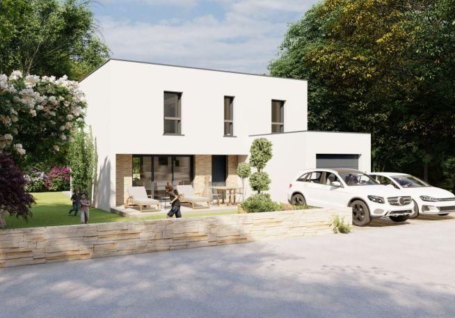 Maison 125 m² avec terrain à PORT-SAINT-PERE (44)