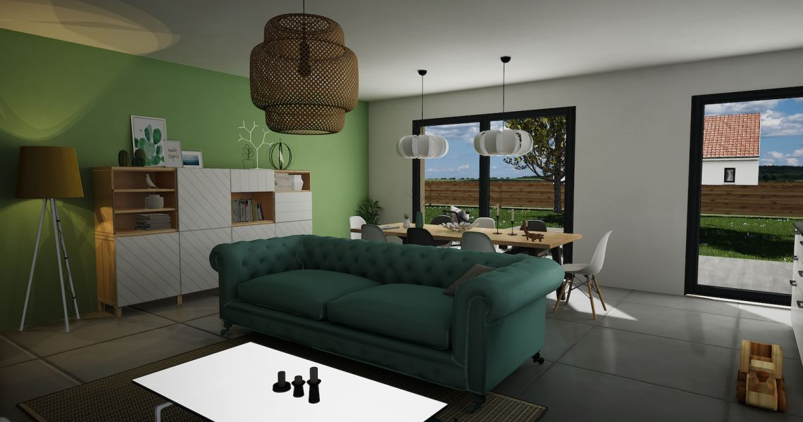 image Maison 90.15 m² avec terrain à OUZOUER-SUR-TREZEE (45)