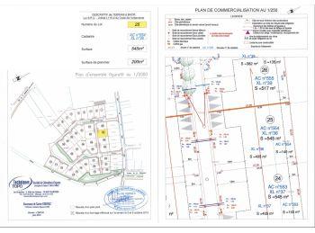 Photo du terrain à bâtir de 545m²<br> à ILLIERS-COMBRAY (28)