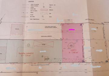 image terrain Terrain à bâtir de 350 m² à MALESHERBES (45)