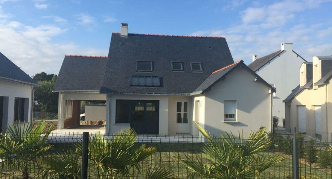 image Livraison d'une construction de maison neuve à CROSSAC (44)